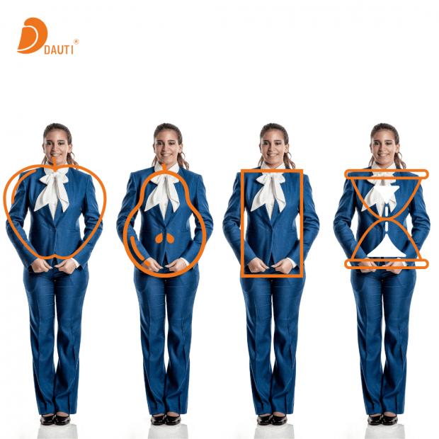 Fardas de Trabalho: 6 Dicas para escolher o mais adequado para o seu formato corporal